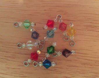 Swarovski Crystal Birthstone Charms