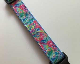 """Lilly inspired dog collar """"Sea Pants Fancy"""" adjustable dog collar dog accessories collar for dogs puppy dog collar pet collar"""