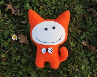 Funny cat toy Softie stuffed cat Animal cat toys Cat birthday gift Pet toy Valentines present Personalized gift