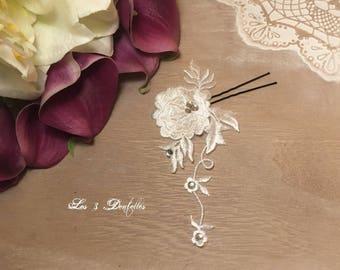 wedding lace rhinestone wedding PIC * 3 lace *.