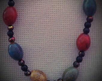 Natural Tones Necklace