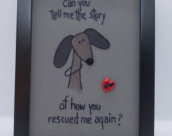 Can you tell me the story of how you rescued me again?