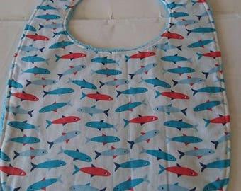 Bib large turquoise fish