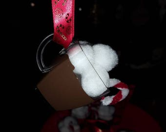 Homemade Cup of Hot Cocoa Ornament