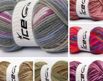 "Ball of yarn ""Self-Striping"""