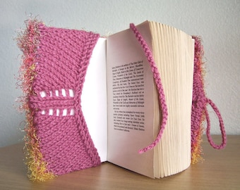 Book Cover Pattern, Knitting Patterns, Journal Cover Pattern, Easy Knitting Patterns, Beginner Knitting Patterns