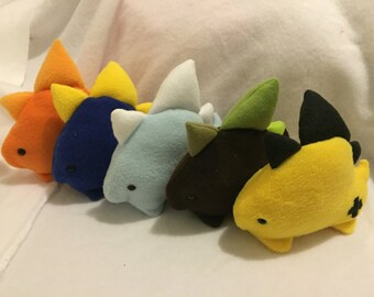 Elemental Stegosaurus Plush