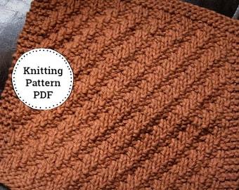 Knitting Pattern | Dishcloth Pattern | Jaywalking East