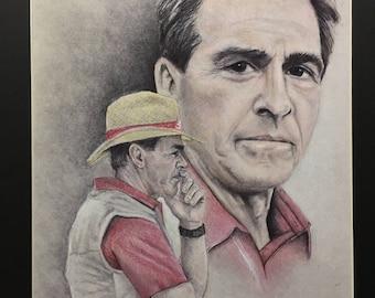 Nick Saban Coach of the Alabama Crimson Tide