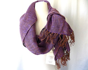 Handwoven Shawl from Mucros Weavers, Made in Ireland, NWT, Linen & Cotton for Spring, Summer