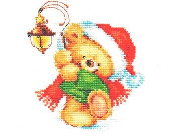Cross Stitch Kit beginner  Children / Christmas
