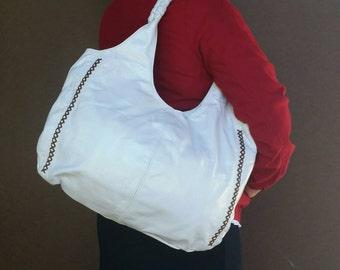 Leather Hobo Bag Purse,  Hobo Tote Bag, Boho Chic Handbag, Leather Tote Bag, Totes, Shoulder Handbag, Handmade Bags and Purses, Arely