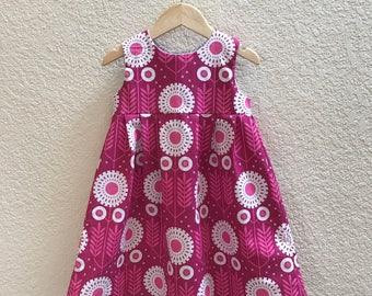 Toddler Dress - Size 3T Dress - Twirl Dress - Girls Party Dress - Birthday Dress - Tea Party Dress - First Birthday Dress - Floral Dress