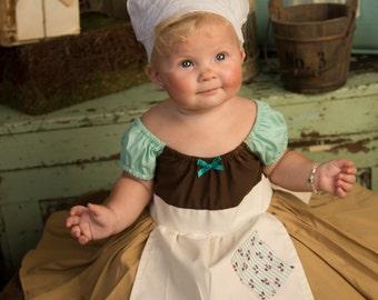CINDERELLA costume, Cinderella Work dress, Cinderella Maid Dress, Cinderella Dress, Birthday Party, Princess Dress, Disney Princess
