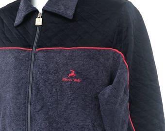 Vintage 80s Hirsch weis sweater