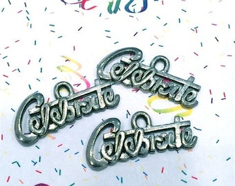 Celebrate - 4 pieces-(Antique Pewter Silver Finish)