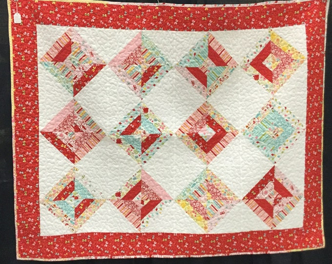 Flowers and Bees treasure Quilt