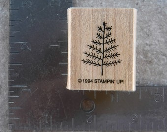 Stampin Up Stick Tree Single Stamp #A65