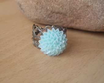 Chrysanthemum Dahlia Flower Ring