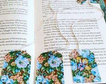 Fabric Tea Bag Bookmarks