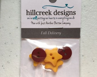 Fall Delivery Button Pack from Hillcreek Designs B256-QDD