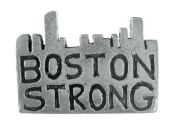 Boston Strong Lapel Pin - CC583- Boston Marathon, and Boston Pins