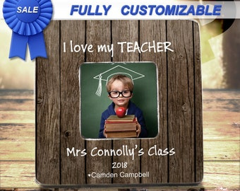 Teacher Gift Teacher Appreciation Gift End Of Year Christmas Teacher Frame Gift Personalized Teacher Picture Frame Gift From Student Class