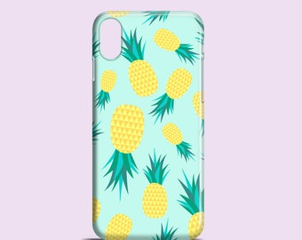 Pineapples phone case / iPhone X / tropical iPhone 8 / iPhone 7 / fruity iPhone 6S case / iPhone and Samsung Galaxy S models / Galaxy S7