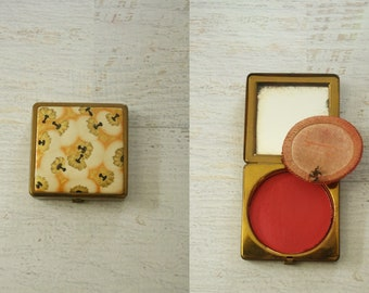 1930s coty rouge compact
