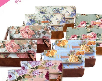 set of 10 bridesmaid gift, set of bridesmaid clutches , personalized bridesmaid gift, bridesmaid clutch, wedding clutch , monogram clutch ,