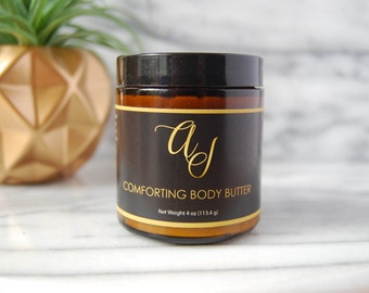 Comforting Body Butter - Tallow Body Butter - Cruelty Free Body Butter - Body Moisturizer - Irritated Skin Remedy - Dry Winter Skin Remedy