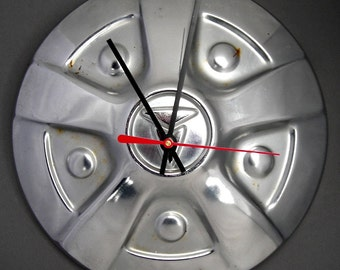 Vintage 1971 - 1983 Toyota Pickup Truck Hubcap Wall Clock - Hilux
