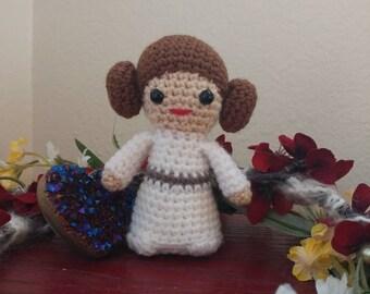 Star Wars Inspired Crochet Princess Leia