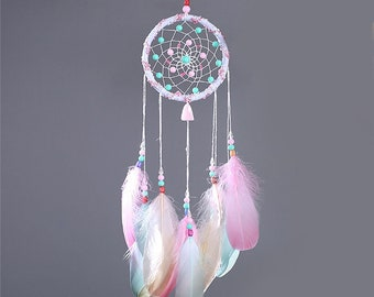 Colorful Dream Catcher, boho dreamcatcher, nursery dreamcatcher, wedding dreamcatcher, dream catcher decor, house decor, dreamcatcher gift