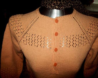 Pretty Ladies hand knitted tunic/dress