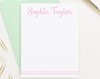 Stationery for Girls, Kids Stationery, Personalized Stationery, Custom Stationery, Stationary Personalized, Stationary Cards, KS063