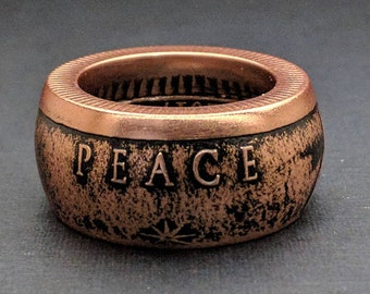 Coin Rings - Peace On Earth