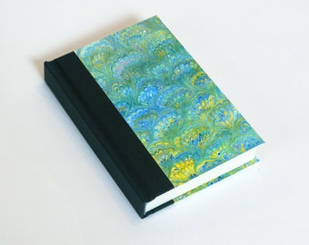 """Sketchbook 4x6"""" with motifs of marbled papers - 30"""