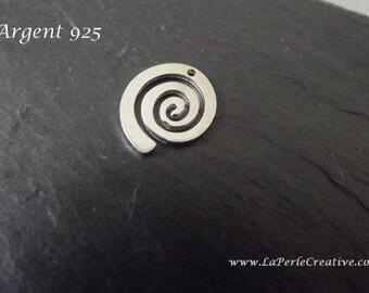 Pendant Silver 925 spiral