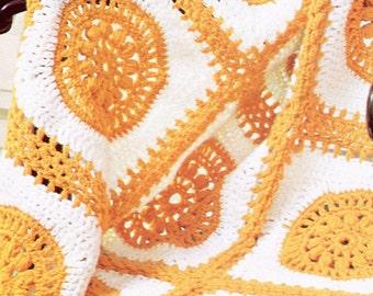 Classic 1970's Crochet Blanket Pattern, So Fabulous!