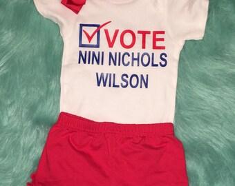 Vote baby onesie!-Voting Day-Vote for Me