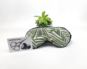 Sleeping mask / / sleep mask / / sleep accessory / / sleep - khaki jungle accessory