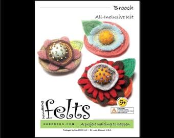 HandBEHG Felts - Brooch Kit