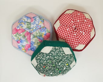 PIN fabric / / needle holders Patchwork / / Pincushion