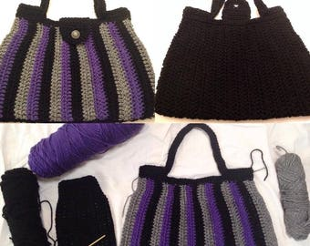 Handmade Purse Inspired by The Purple One