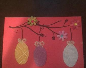 Hanging Easter Egg Card
