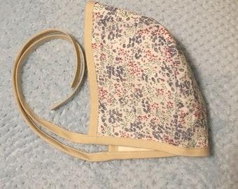 Custom Handmade Baby Bonnet