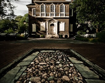 Cityscape Photography - Carpenters Hall Philadelphia -  8x12