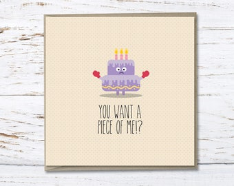 Birthday Card // Funny birthday card // Funny quote // Greeting card