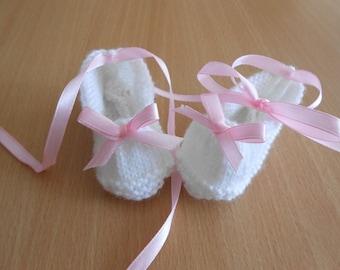 White ballerina slippers